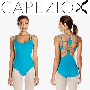 *Blue Capezio Ballet Leotard in Ladies Large*